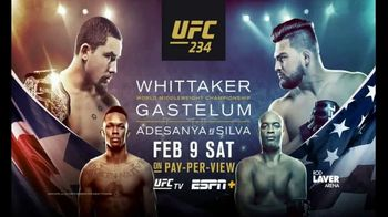 UFC 234 TV Spot, 'Whittaker vs. Gastelum: The Best Rise to the Top' Song by Charlie Tenku