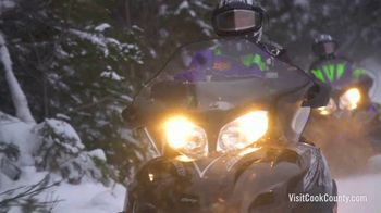 Visit Cook County TV Spot, 'Go Snowmobiling' - Thumbnail 4