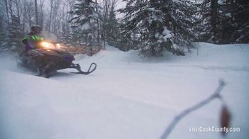 Visit Cook County TV Spot, 'Go Snowmobiling' - Thumbnail 6