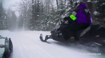Visit Cook County TV Spot, 'Go Snowmobiling' - Thumbnail 8