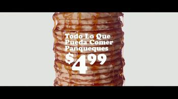 IHOP All You Can Eat Pancakes TV Spot, 'Todo lo que puedas comer' [Spanish] - Thumbnail 2
