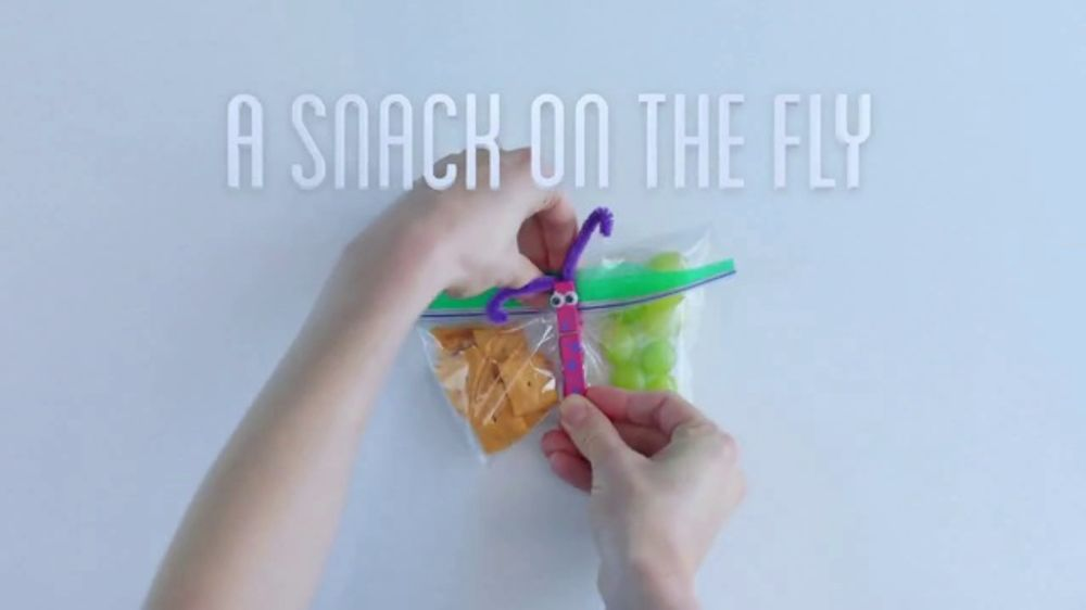 Ziploc TV Commercial, 'More Than A Bag: A Snack On The Fly'