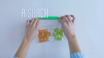 Ziploc TV Spot, 'More Than A Bag: A Snack On The Fly'