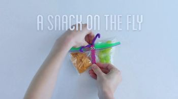 Ziploc TV Spot, \'More Than A Bag: A Snack On The Fly\'