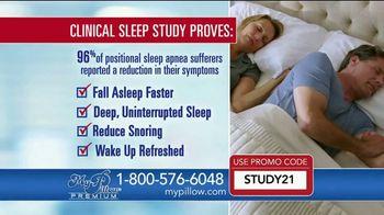 My Pillow Premium TV Spot, 'Clinical Sleep Study: BOGO' - Thumbnail 9