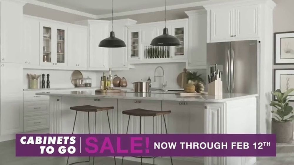 Cabinets To Go TV Commercial, \'30 Percent Off\' - Video