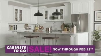Cabinets To Go TV Spot, '30 Percent Off'