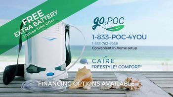 Go2POC CAIRE FreeStyle Comfort TV Spot, 'Expand Your Comfort Zone: Free Extra Battery' - Thumbnail 9