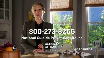 National Suicide Prevention Lifeline TV Spot, 'ABC: Reach Out'