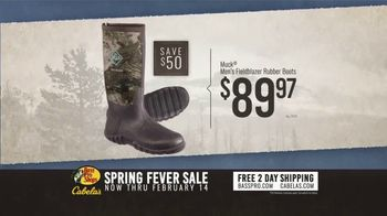 Bass Pro Shops Spring Fever Sale TV Spot, 'Rubber Boots and Decoy Combo' - Thumbnail 5