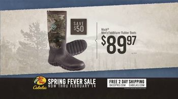 Bass Pro Shops Spring Fever Sale TV Spot, 'Rubber Boots and Decoy Combo' - Thumbnail 6