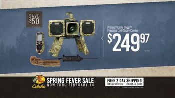 Bass Pro Shops Spring Fever Sale TV Spot, 'Rubber Boots and Decoy Combo' - Thumbnail 8