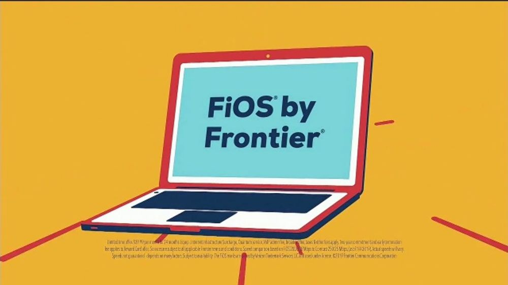 FiOS by Frontier Communications TV Commercial, 'Make the Switch: Eight Times Faster'