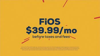 FiOS by Frontier Communications TV Spot, 'Make the Switch: Eight Times Faster' - Thumbnail 8