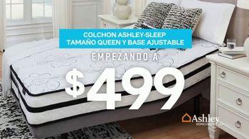 Ashley HomeStore Presidents Day Mattress Sale TV Spot, 'Colchón y base ajustable' [Spanish] - Thumbnail 3