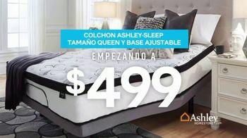 Ashley HomeStore Presidents Day Mattress Sale TV Spot, 'Colchón y base ajustable' [Spanish] - Thumbnail 5
