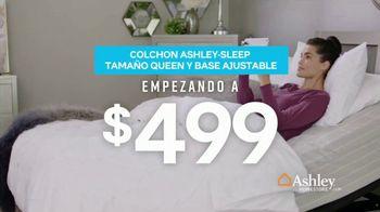 Ashley HomeStore Presidents Day Mattress Sale TV Spot, 'Colchón y base ajustable' [Spanish] - Thumbnail 6