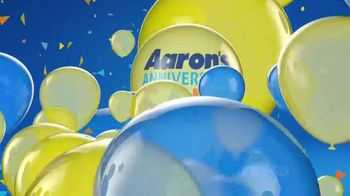 Aaron's Anniversary Sale TV Spot, 'Celebration is in the Air' - Thumbnail 10