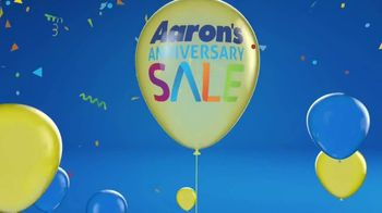 Aaron's Anniversary Sale TV Spot, 'Celebration is in the Air' - Thumbnail 9