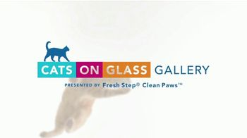 Fresh Step Clean Paws TV Spot, '2019 Cats on Glass Gallery' - Thumbnail 1
