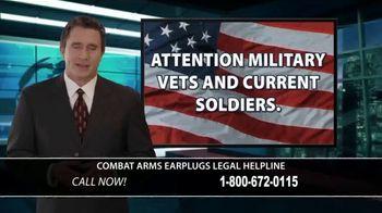 Combat Arms Earplugs Legal Helpline TV Spot, 'Tinnitus and Hearing Loss' - Thumbnail 1