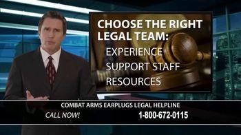 Combat Arms Earplugs Legal Helpline TV Spot, 'Tinnitus and Hearing Loss' - Thumbnail 7