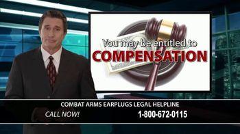 Combat Arms Earplugs Legal Helpline TV Spot, 'Tinnitus and Hearing Loss' - Thumbnail 3