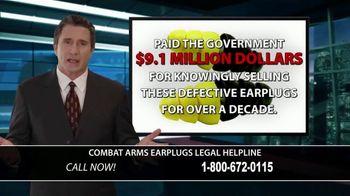 Combat Arms Earplugs Legal Helpline TV Spot, 'Tinnitus and Hearing Loss' - Thumbnail 4