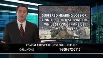 Combat Arms Earplugs Legal Helpline TV Spot, 'Tinnitus and Hearing Loss' - Thumbnail 6