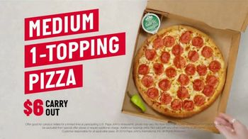 Papa John's $6 Carry Out Special TV Spot, 'Straight From the Source' - Thumbnail 8