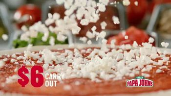 Papa John's $6 Carry Out Special TV Spot, 'Straight From the Source' - Thumbnail 3