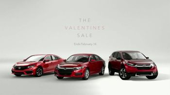 Honda Valentines Sale TV Spot, 'What I Want' [T2] - Thumbnail 7