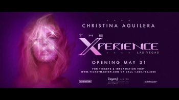 Christina Aguilera TV Spot, 'The Xperience Las Vegas Residency: Zappos Theater'