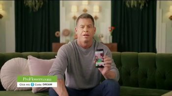 ProFlowers TV Spot, 'Order Like a Pro' Featuring Troy Aikman - Thumbnail 1