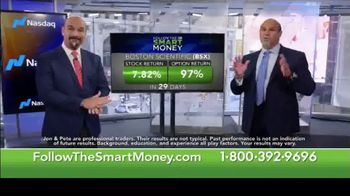 Jon & Pete Najarian Follow the Smart Money TV Spot, 'Stock & Option Returns' - Thumbnail 1