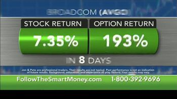 Jon & Pete Najarian Follow the Smart Money TV Spot, 'Stock & Option Returns' - Thumbnail 4