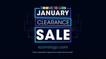 Rooms to Go January Clearance Sale TV Spot, '$799 for Five Pieces' - Thumbnail 5