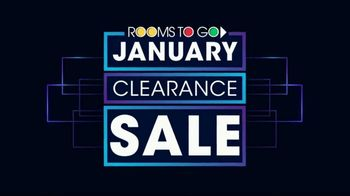 Rooms to Go January Clearance Sale TV Spot, '$799 for Five Pieces' - Thumbnail 1