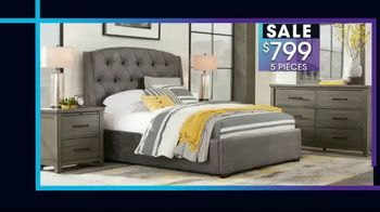Rooms to Go January Clearance Sale TV Spot, '$799 for Five Pieces' - Thumbnail 2