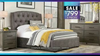 Rooms to Go January Clearance Sale TV Spot, '$799 for Five Pieces' - Thumbnail 4