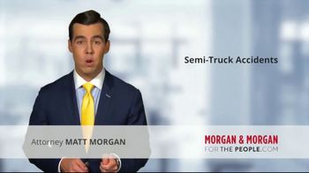 Morgan and Morgan Law Firm TV Spot, 'Accident With a Semi' - Thumbnail 2