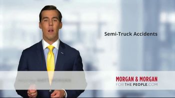 Morgan and Morgan Law Firm TV Spot, 'Accident With a Semi' - Thumbnail 3