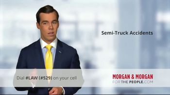 Morgan and Morgan Law Firm TV Spot, 'Accident With a Semi' - Thumbnail 4