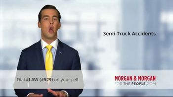 Morgan and Morgan Law Firm TV Spot, 'Accident With a Semi' - Thumbnail 5