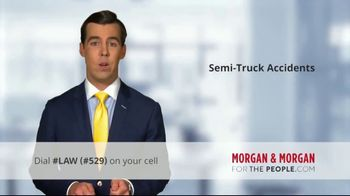 Morgan and Morgan Law Firm TV Spot, 'Accident With a Semi' - Thumbnail 6