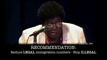 NumbersUSA TV Spot, 'Barbara Jordan'