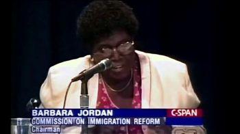 NumbersUSA TV Spot, 'Barbara Jordan' - Thumbnail 7