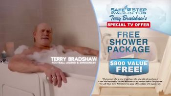 Safe Step TV Spot, 'His Secret Is Revealed' Featuring Terry Bradshaw - Thumbnail 6