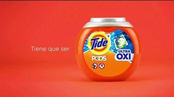 Tide PODS Ultra OXI TV Spot, 'Una limpieza poderosa' [Spanish] - Thumbnail 9