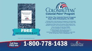 Colonial Penn Whole Life Insurance TV Spot, 'Need for Life Insurance' - Thumbnail 7